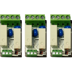3x Relay module for home automation system