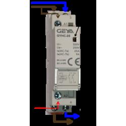 Modular contactor 2 poles...