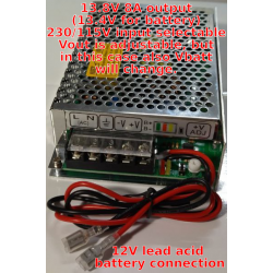 13.8V 8A power supply with...