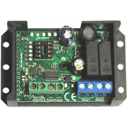 Creasol UniRec2 - Univerzální přijímač s vícekanálovými 2 kanály