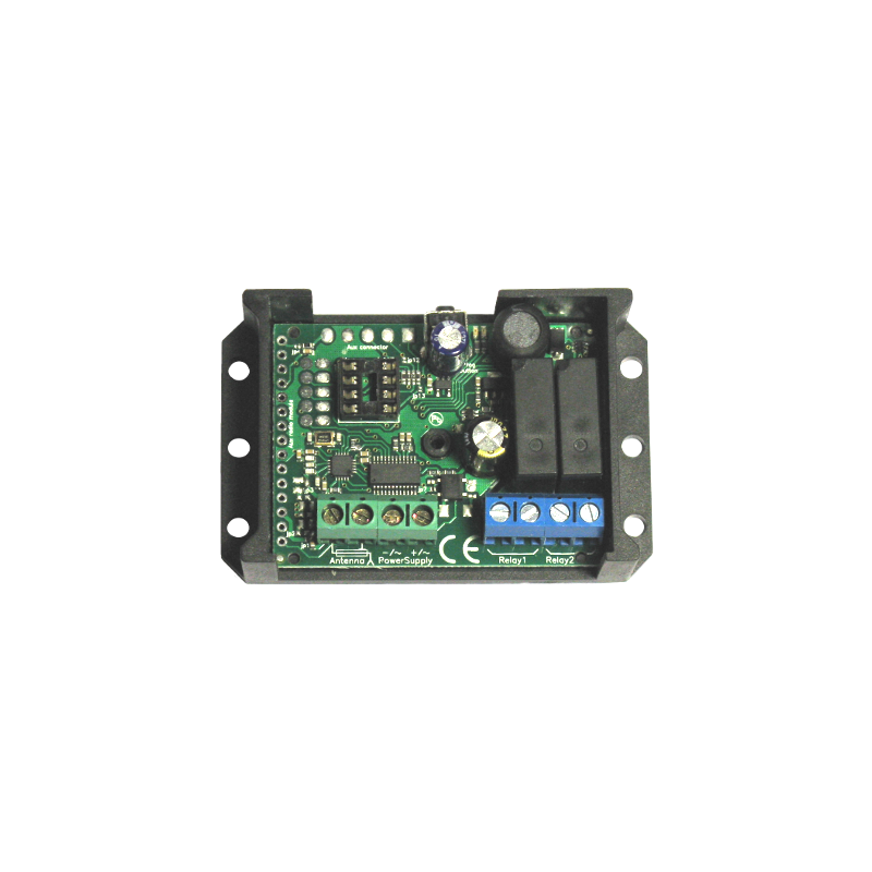 creasol UniRec2 - Multifrequency 2 channels universal receiver