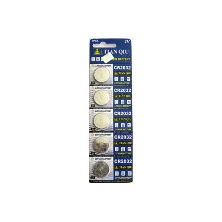 CR2032 lithium button cell