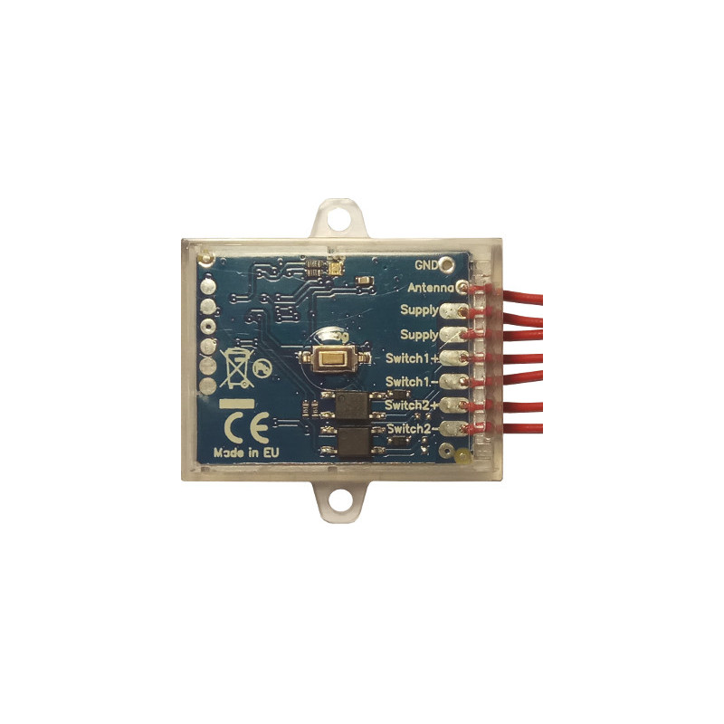 Creaso UniRec12 - 2 channels compact multifrequency receiver