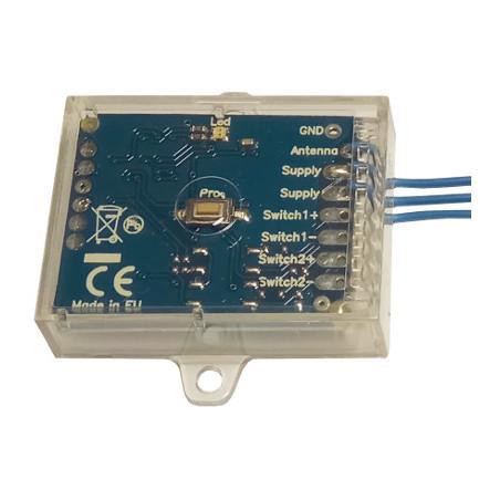 Creasol Sender - Duplicadora de control remoto multifrecuencia estacionaria