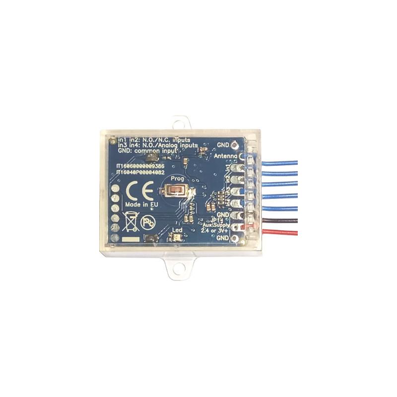 Creasol SenderBatt: stacionární multifrekvenční duplikátor / vysílač dálkového ovládání