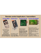 Remote control duplicators and transmitters