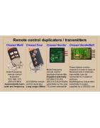 Transmissores e duplicadores de controle remoto